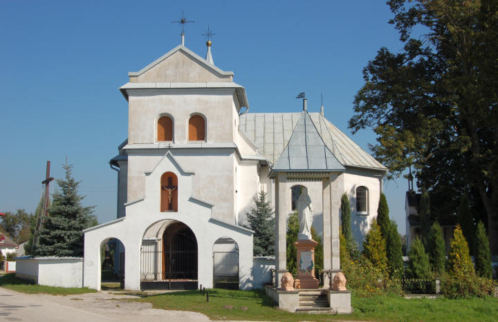 The church in Potok